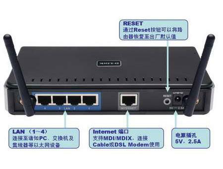 I 624无线路由器设置图文教程 无线路由器设置图解